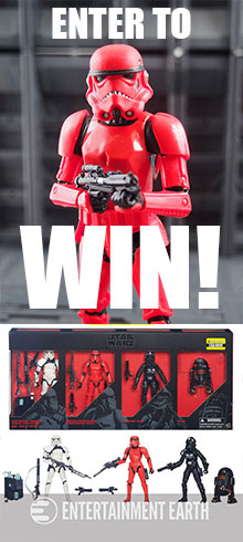 Win a Star Wars Black Exclusive Imperial Forces set from Entertainment Earth