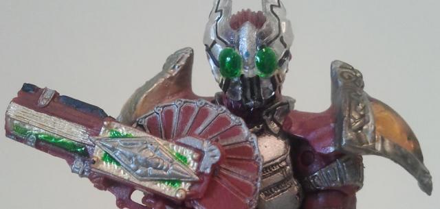 SIC Kiwami Tamashii: Kamen Rider Garren