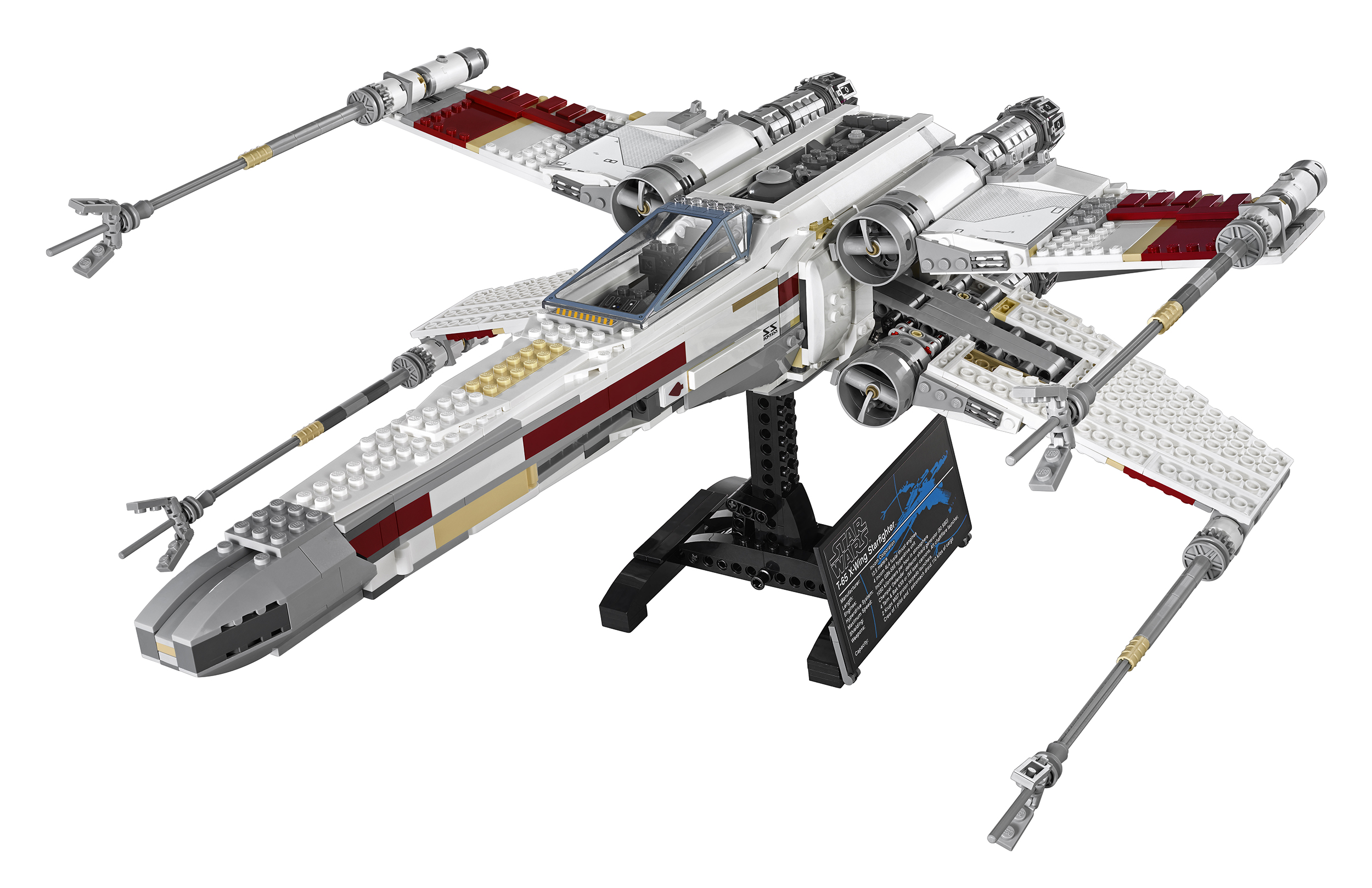 new lego star wars exclusive set revealed red five x wing collectiondx. Black Bedroom Furniture Sets. Home Design Ideas