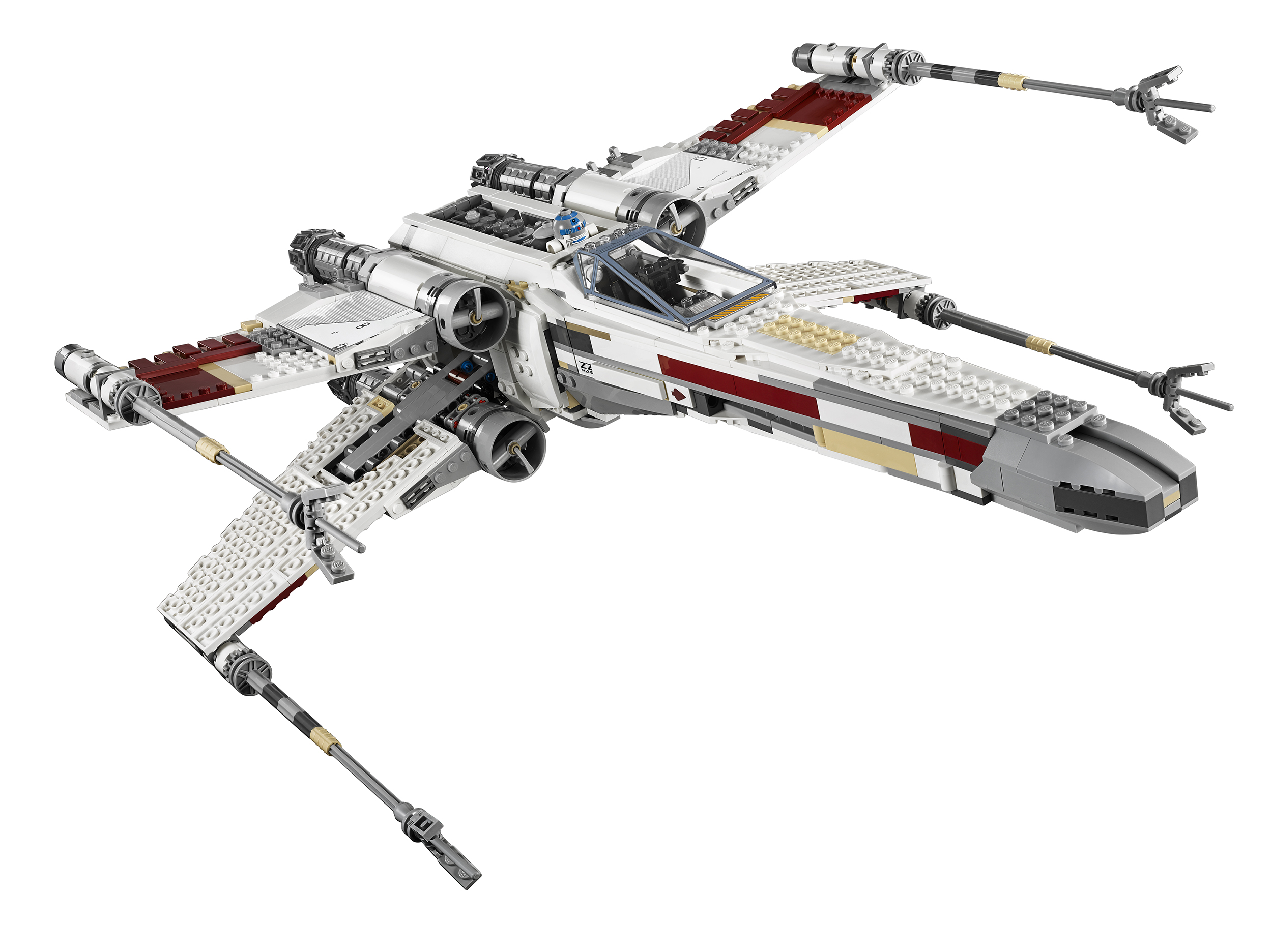 new lego star wars exclusive set revealed red five x wing. Black Bedroom Furniture Sets. Home Design Ideas