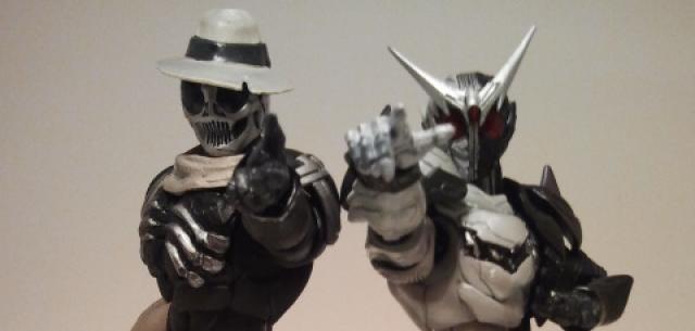 Kamen Rider Fang Joker & Kamen Rider Skull