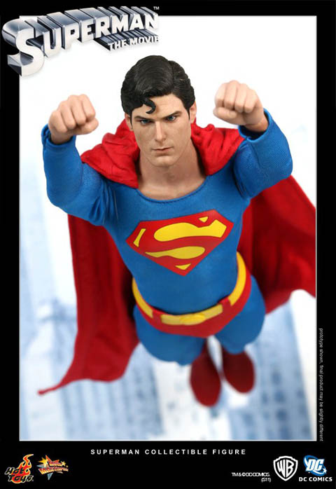 Hot Toys MMS152 SUPERMAN 1978 Christopher Reeve Figure 1//6th Scale FIGURE STAND