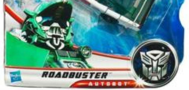 Deluxe-class Autobot Roadbuster