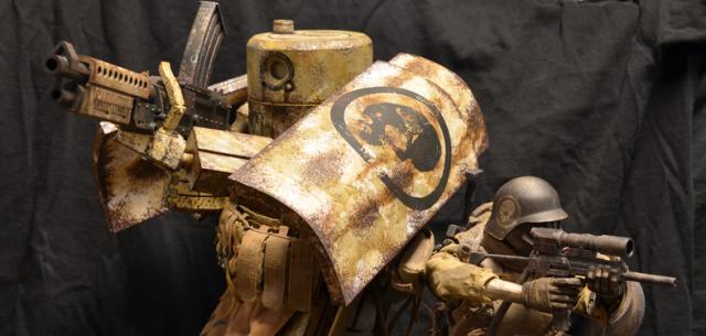 Caesar Clint-E Desert Corps 666th