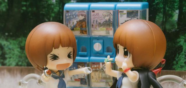 1/12 Capsule Toy Machine