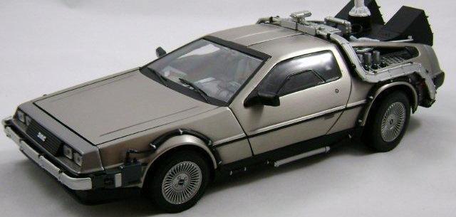 Back to the Future Part II: DeLorean Time Machine