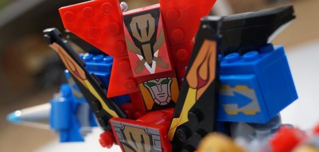 MEGA Bloks Ultimate Legendary Megazord Power Rangers Super Megaforce