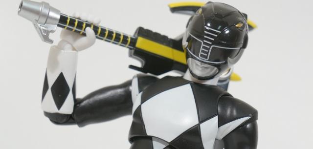 s.h. Figuarts Black Ranger MMPR