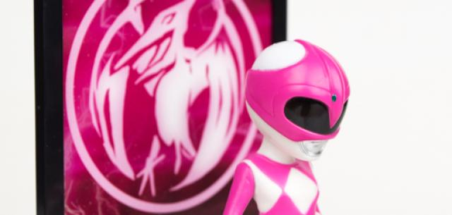 Mighty Morphin Power Rangers Tamashii Buddies - Pink Ranger