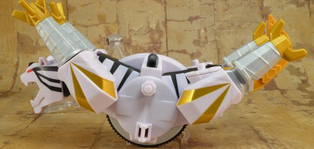 ZordBuilder System - Tiger Zord with Mega Ranger