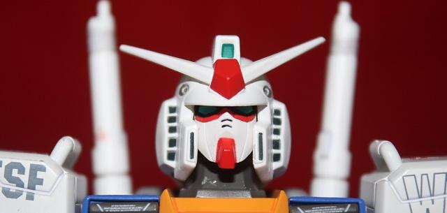 RX-78-2 Gundam Ver. Ka with G-Fighter