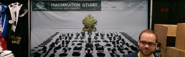 NYCC 2015: Machination Studio, Codename: Colossus