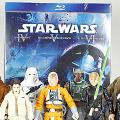 Star Wars Blu Ray Commemorative Figure Sets Episodes IV, V, VI