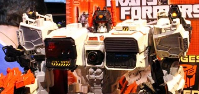 NYTF2013: Hasbro - Transformers
