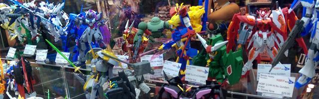 NYCC Bandai Gundam