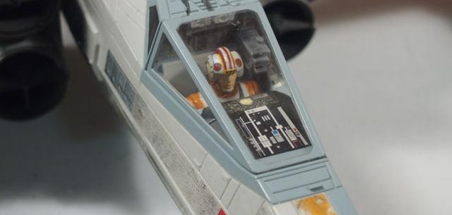 Electronic Power F/X Luke's Red Five X-Wing
