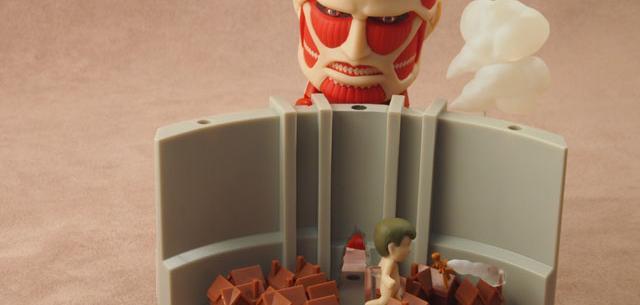 Colossus Titan & Attack Playset