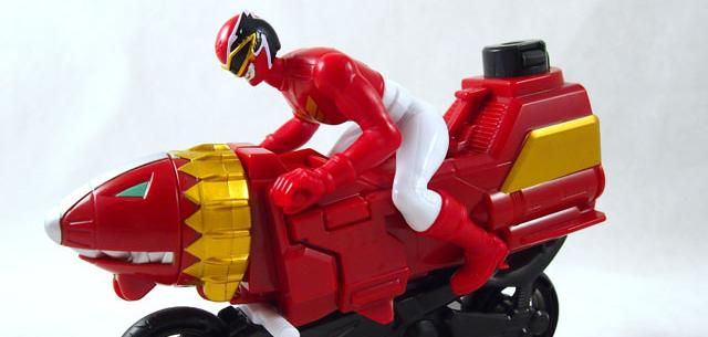 Sky Lion Red Ranger Cycle
