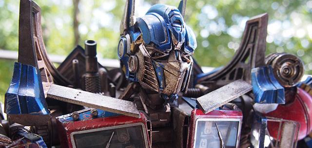 Transformers: Optimus Prime Premium Scale Collectible Figure by ThreeA Toys