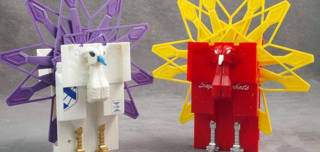 Cigarette Box Super Robots