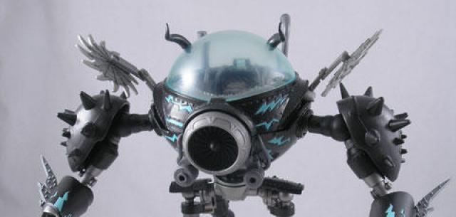 Walking Destruction Robot