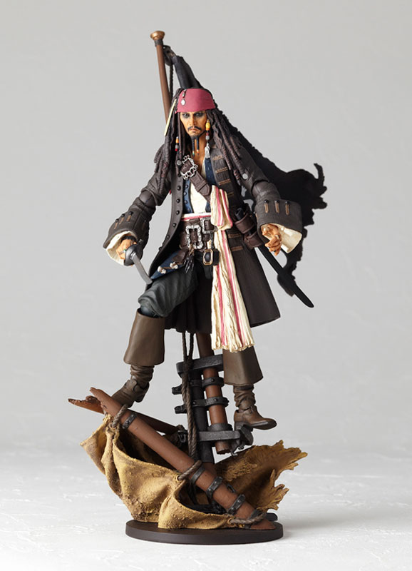 Revoltech Sfx No 25 Pirates Of The Caribbean Jack