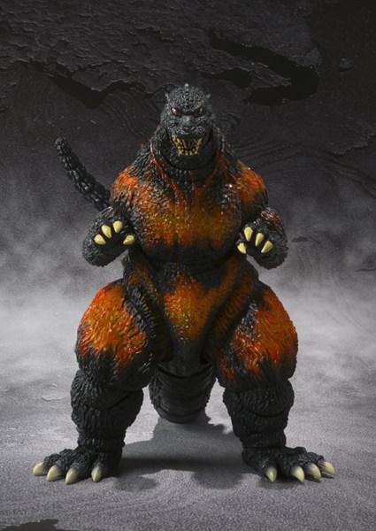 S H Monsterarts Burning Godzilla 1005 From Godzilla Vs