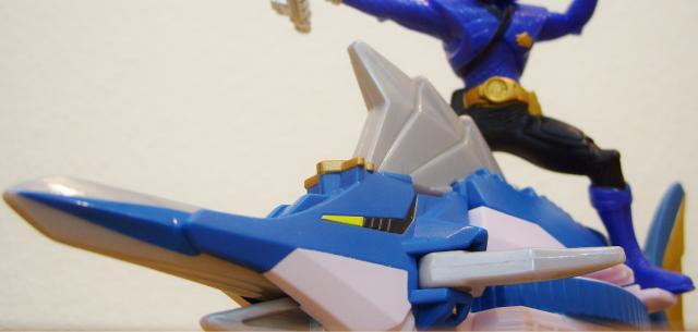 ZordBuilder System - Swordfish Zord with Mega Ranger