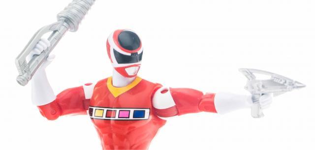 Super Mega Force Red Space Ranger