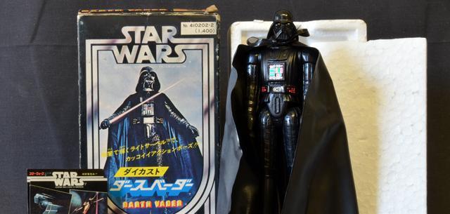 Takara diecast Star Wars Darth Vader