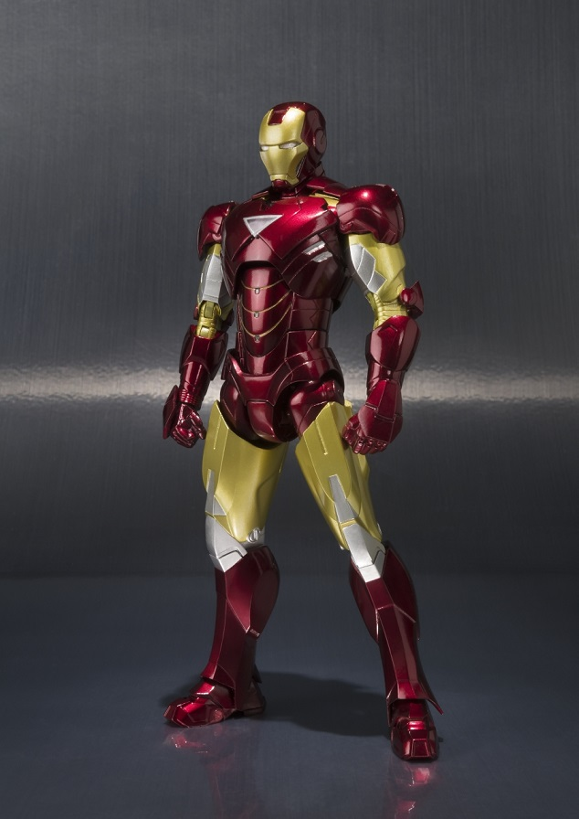 Iron Man MK VI Figuarts & Hall of Armor