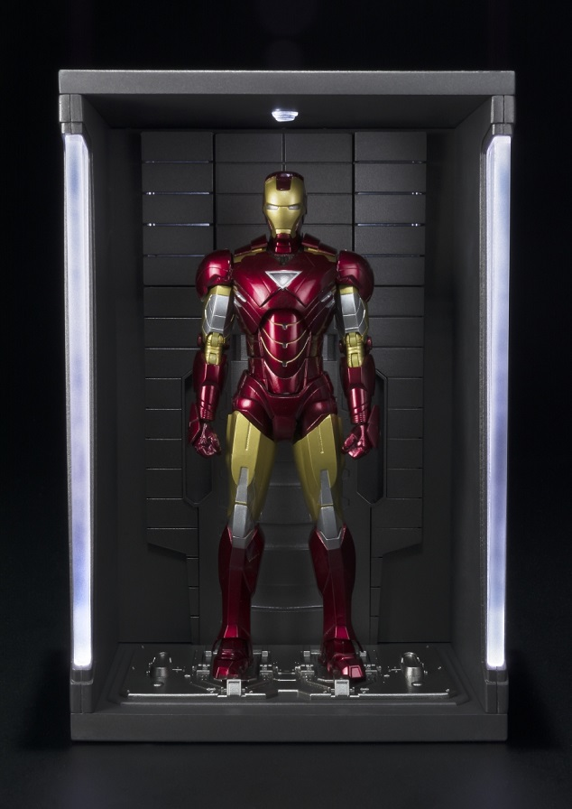 Iron Man MK VI Figuarts & Hall of Armors
