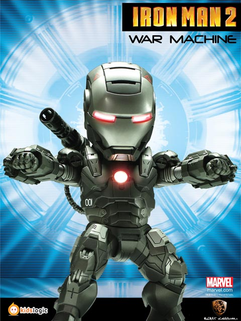 egg attack iron man 2 by kids logic collectiondx