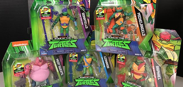 Rise of the Teenage Mutant Ninja Turtles from Playmates