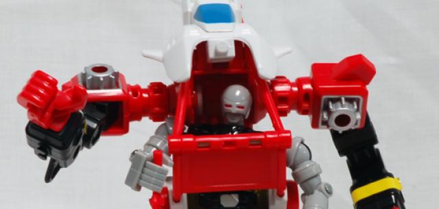 Machine Robo Power Riser with Kenpō Robo