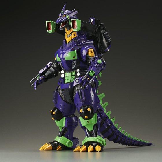 Godzilla vs. Evangelion Toho 30cm Series Kiryu Eva Unit 01 ...
