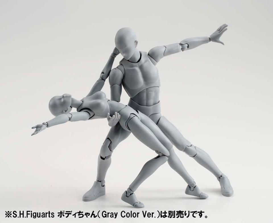 S H Figuarts Body Kun Gray Color Ver Collectiondx