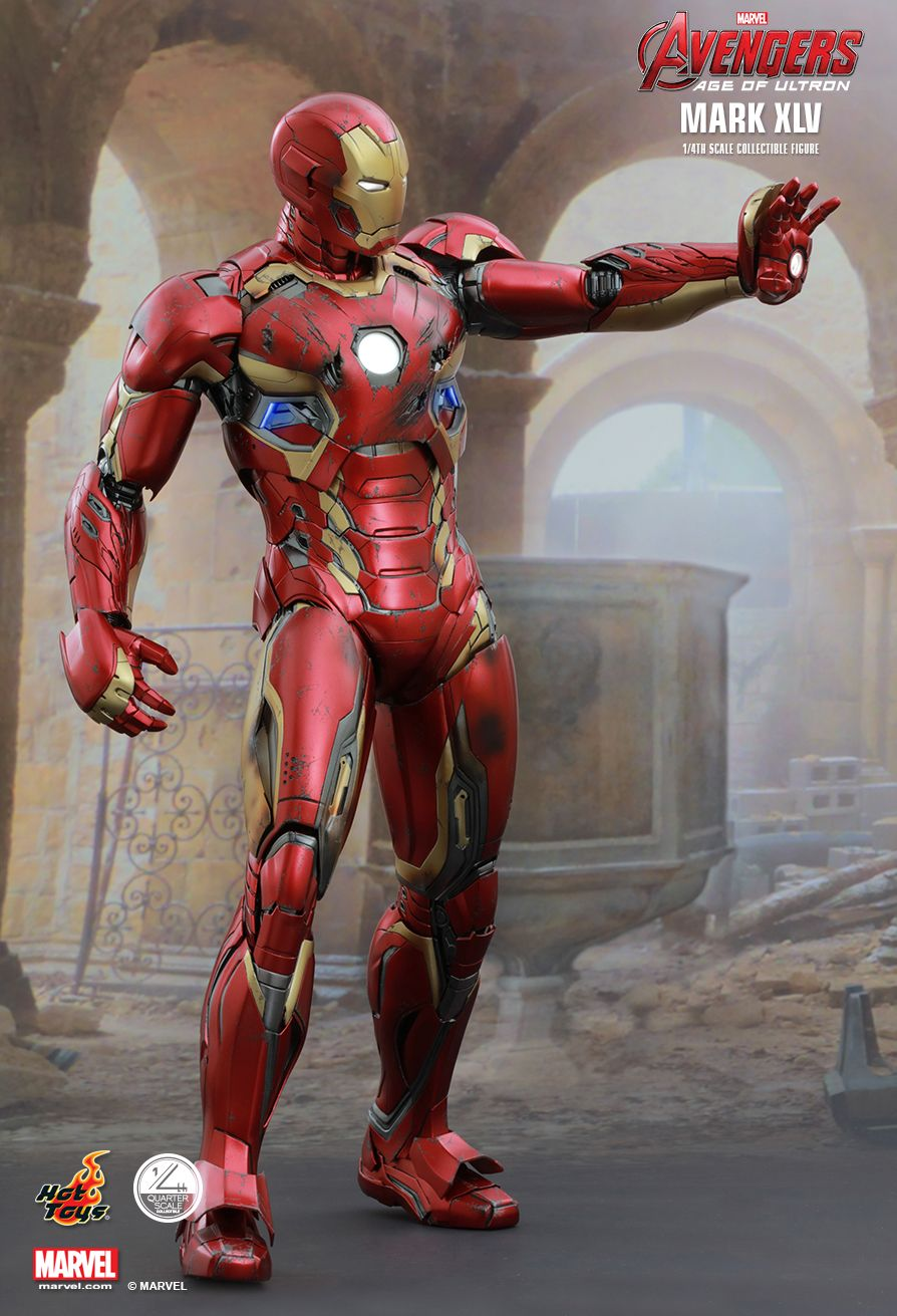 Hot Toys 1 4 Scale Iron Man Mark Xlv From Avengers Age Of