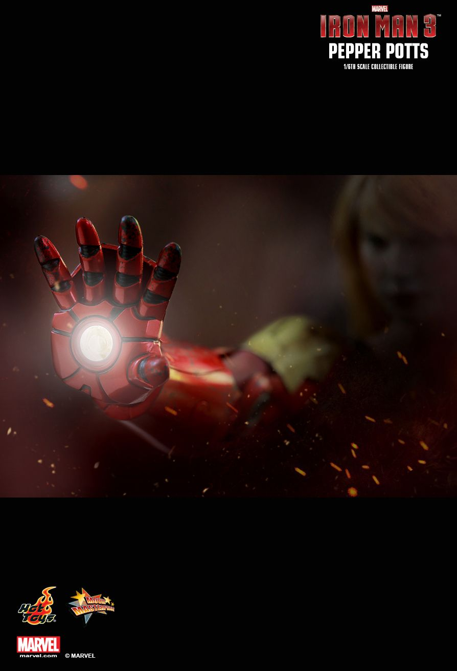 Hot Toys Pepper Potts From Iron Man 3 Collectiondx