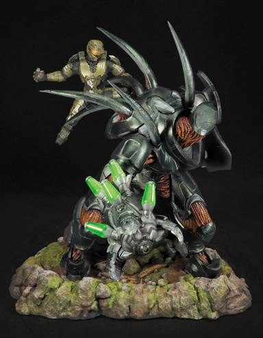 New Halo 4 Forward Unto Dawn Limited Edition Statue Revealed The