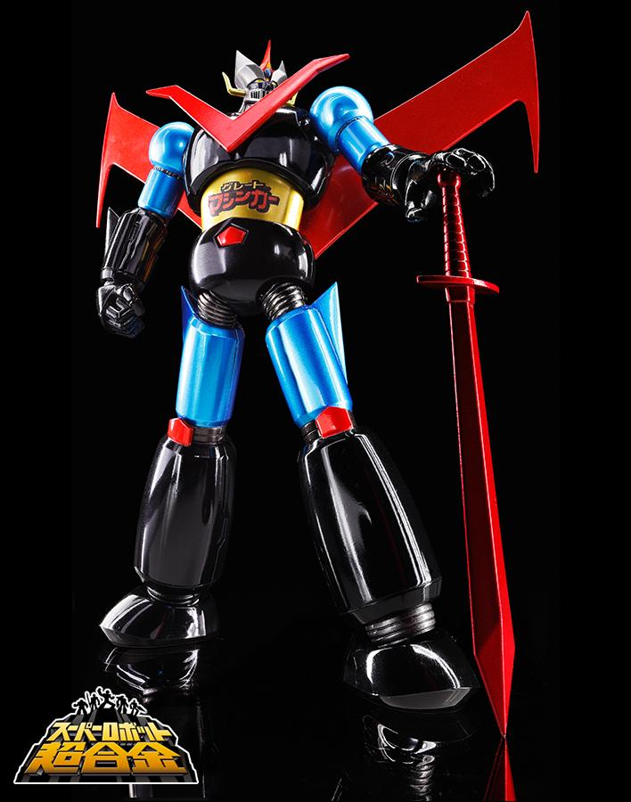Super Robot Chogokin Great Mazinger Jumbo Color Updated