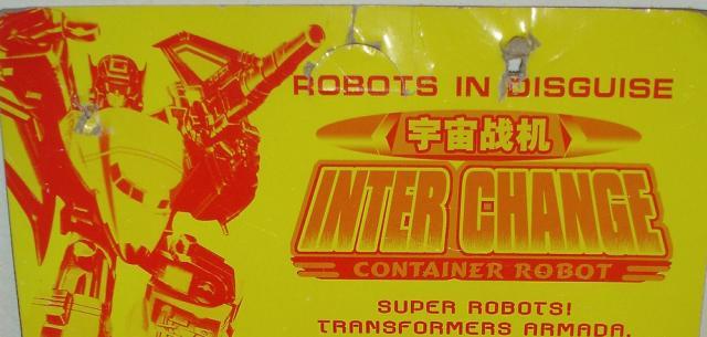 Interchange Container Robot