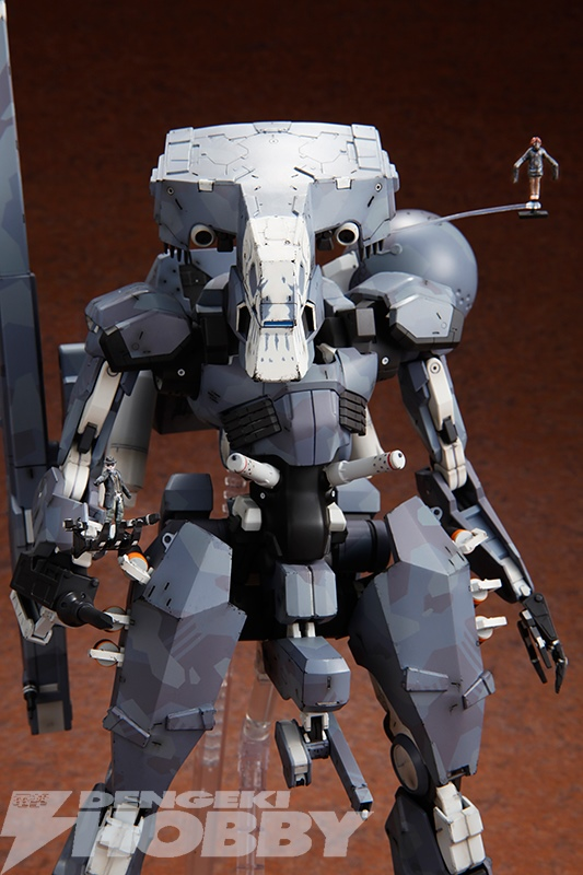 Metal Gear Sahelanthropus 1 100 Scale Model Kit From Metal
