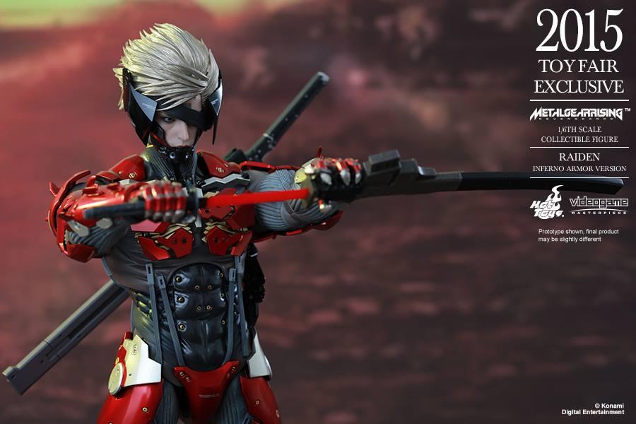 Hot Toys Metal Gear Rising Revengeance Raiden Inferno