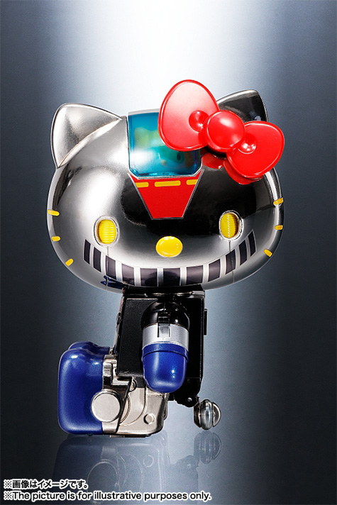 Chogokin Hello Kitty Mazinger Z Color Collectiondx