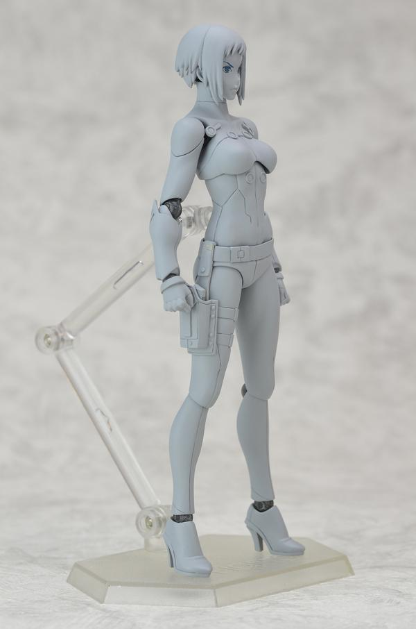Figma Motoko Kusanagi New Movie Version From Ghost In The Shell Collectiondx