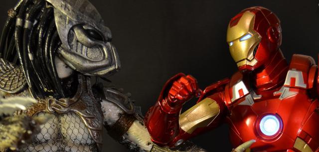 NECA Avengers Iron Man MkVII