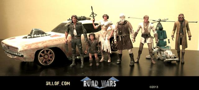 Star Wars Road Warrior Custom Figures