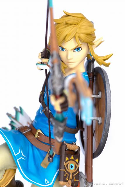 Zelda: Breath of the Wild Link Figure