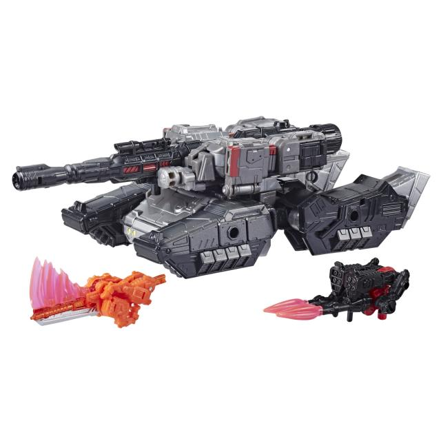 Transformers: Generations War for Cybertron Series-Inspired Voyager Megatron Battle 3-Pack